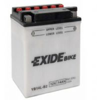 Exide EB14L-B2 Motorcycle Battery 12v 14Ah 145A (YB14L-B2) From £26.66 EX VAT Buy Online from The Battery Shop